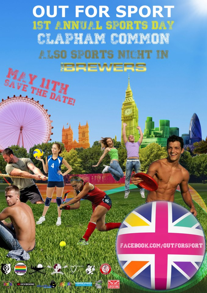 1st Annual Sports Day and Night - May 11th!