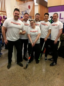 Members of London Royals, an LGBTQ+ hockey club