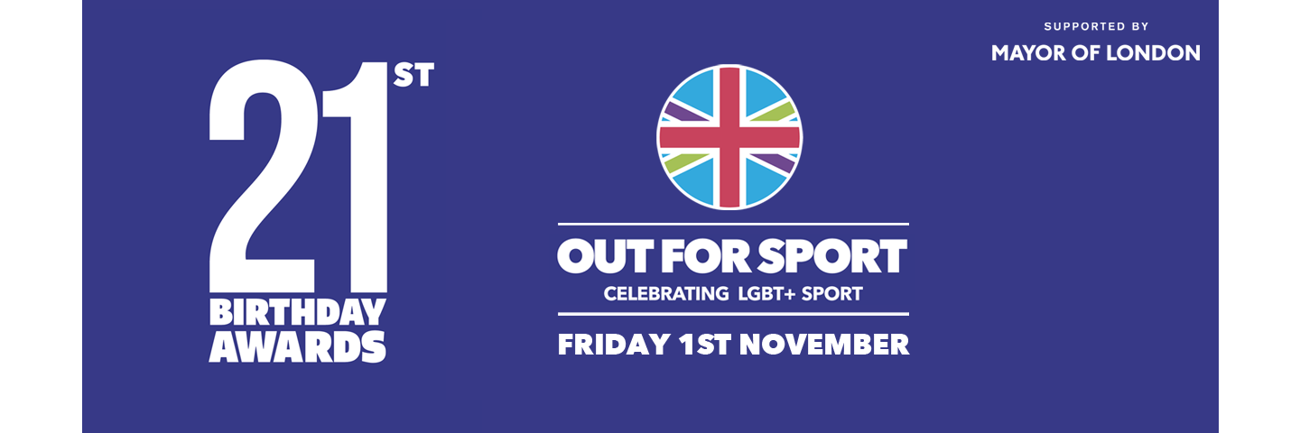 Out For Sport 21st Birthday Awards banner