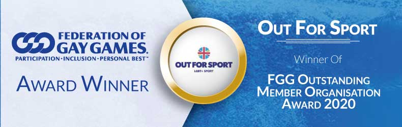 Federation of Gay Games 2020 Outstanding Member Award to Out For Sport
